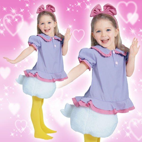 ディズニー コスチューム 子供 女の子用 Sサイズ デイジー 仮装 新生活 プレゼント