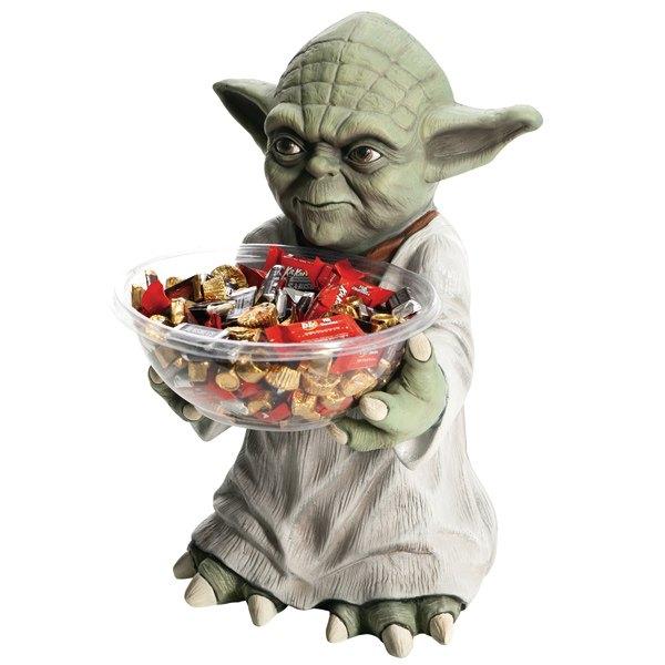 10%オフ全商品やってます ~4/22 ハロウィン パーティーグッズ 装飾 ヨーダ スター・ウォーズ キャンディ ボウルホルダー 新生活 プレゼント