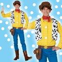 ディズニー コスチューム 大人 男性用 ウッディ トイストーリー 仮装 Disney
