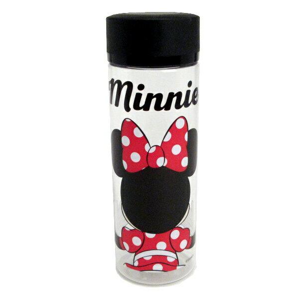 ミニーマウス シンプルデザインブローボトル ウォーターボトル 水筒 400ml うしろむき ディズニー ランチ用品 新生活 プレゼント