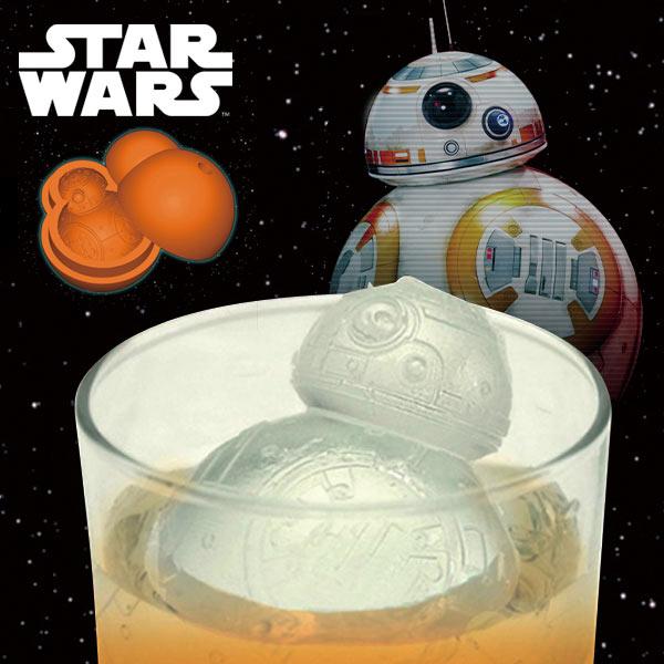 BB-8 シリコントレー 製氷皿 お菓子型 スター・ウォーズ STAR WARS キッチン用品 新生活 プレゼント