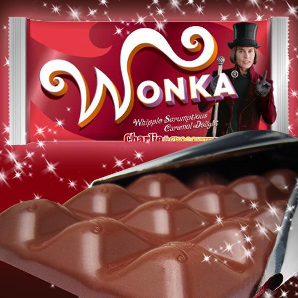 チョコレート WONKA ウォンカチョコレート キャラメル 発売10周年目リニューアル チャーリーとチョコレート工場 新生活 プレゼント