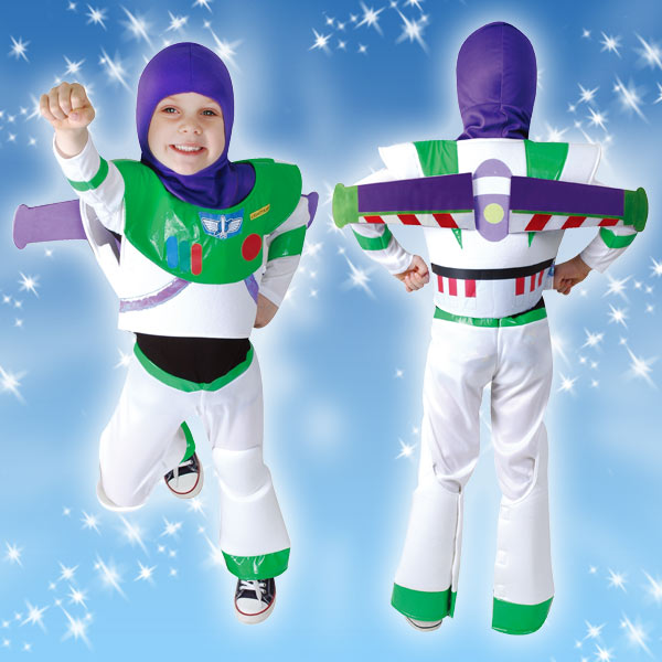 ディズニー コスチューム 子供 男の子用 トドラーサイズ バズ トイストーリー 仮装 新生活 プレゼント