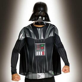 ディズニー コスチューム 大人 スターウォーズ コスチューム 大人 男性用 ダースベイダー 長袖Tシャツセット仮装 ダースベイダー 大人用 16612STD