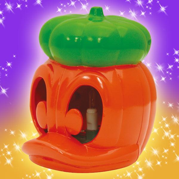 ハロウィン パーティーグッズ 装飾 ドナルド ディズニー かぼちゃ ランタン 在庫限り 新生活 プレゼント