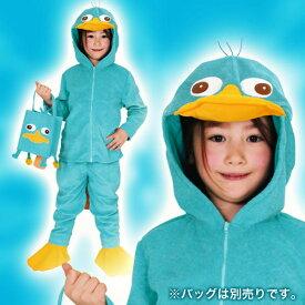 ディズニー コスチューム 子供 ディズニーコスチューム子供用Mサイズペリーフィニアスとファーブ仮装