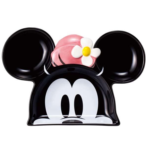 ランチプレート お皿・食器 フェイス ミニーマウス ディズニー 取寄品 3週間前後 ギフト プレゼント