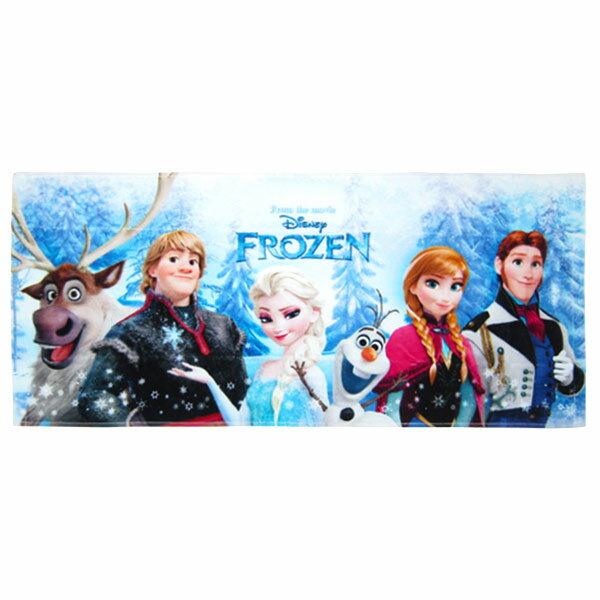 在庫限り: フェイスタオル フローズン アナと雪の女王 ディズニー 新生活 プレゼント