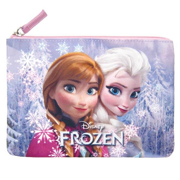 在庫限り: フラットポーチ ピンク アナと雪の女王 ディズニー ORAY 新生活 プレゼント