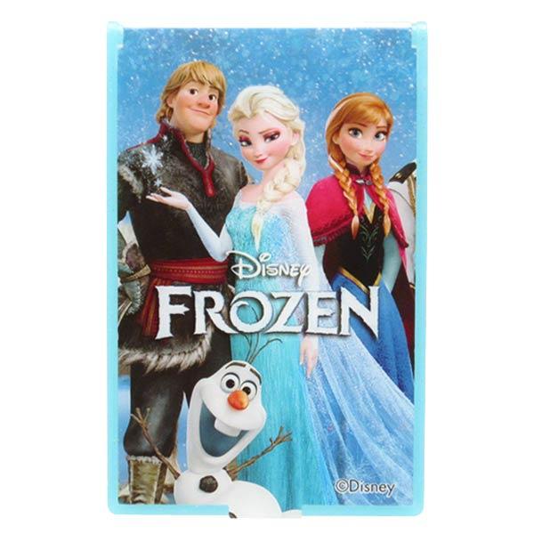在庫限り: コンパクト ミラー S ブルー アナと雪の女王 ディズニー ORAY 新生活 プレゼント