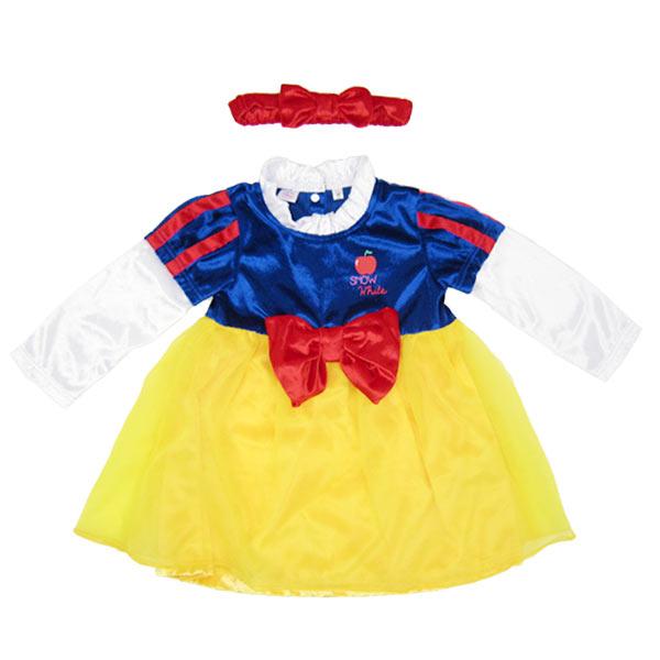 コスプレ コスチューム ディズニー 衣装 白雪姫 スノーホワイト (白雪姫と七人の小人) 95cm 子供用 Toddler (小児)サイズ (子供服/ベビー服) 白雪姫 しらゆきひめ しらゆき姫 プリンセス コスチューム princess ラッピング 可 スーパーセール sale 入園入学 ホワイトデー