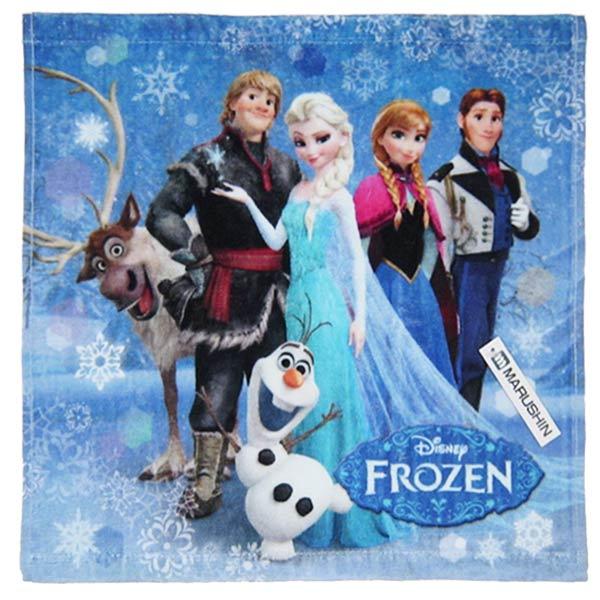ウォッシュタオル タオルハンカチ スノウスケイプ アナと雪の女王 ディズニー 新生活 プレゼント