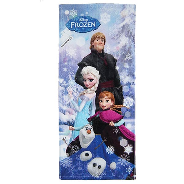 在庫限り: フェイスタオル スノウスケイプ アナと雪の女王 ディズニー 新生活 プレゼント