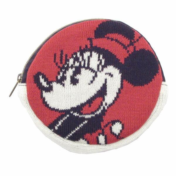 ディズニー ミニーマウス ニットパース コインケース 小銭入れ 小物入れ 新生活 プレゼント