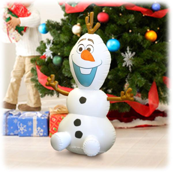 ハロウィン パーティーグッズ 装飾 100cm オラフ アナと雪の女王 エアーバルーン ロッキングオラフ ディズニー 在庫限り 新生活 プレゼント