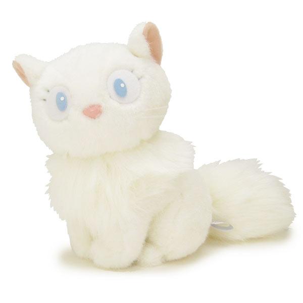 10パーセントオフ 店内全品 ~7/22 ぬいぐるみ リリー (白猫・ねこ・ネコ) M 魔女の宅急便 スタジオジブリ