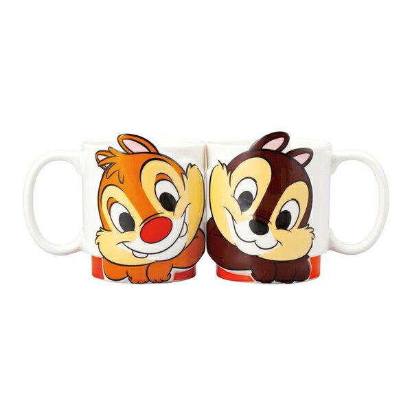 LOVEペアマグカップ 立体 チップ&デール ディズニー 新生活 プレゼント