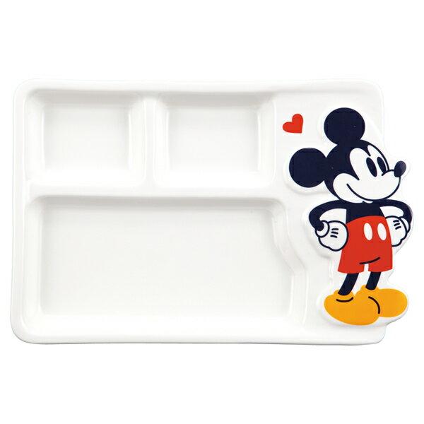 なかよしランチプレート お皿・食器 ミッキーマウス ディズニー 取寄品 3週間前後 ギフト プレゼント