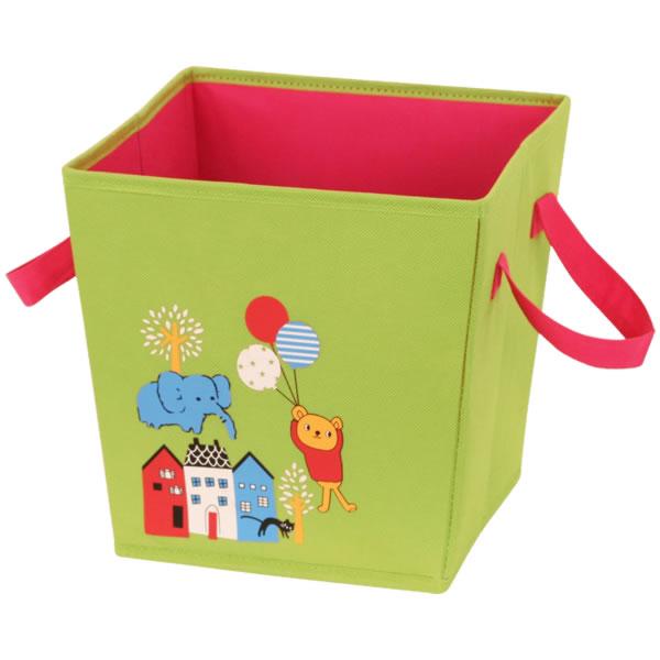 10%オフ全商品やってます ~4/22 キッズ収納ボックス 収納ケース グリーン インテリア用品 ベビー用品 取寄品 3週間前後 新生活 プレゼント