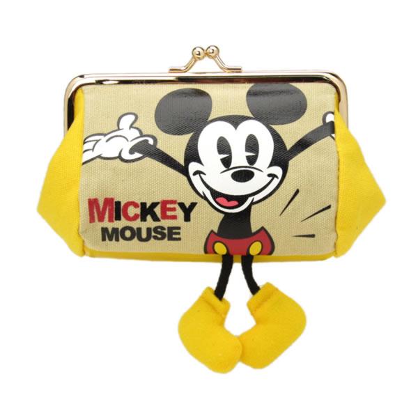 在庫限り: 口金ポーチ がまぐち ミッキーマウス ミッキーショーツ ディズニー ORMC 新生活 プレゼント