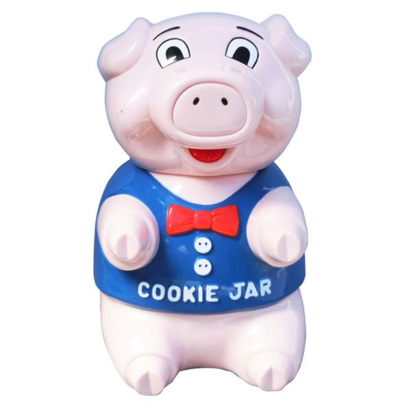 音だしクッキージャー お菓子入れ ピッグ キッチン用品 取寄品 3週間前後 新生活 プレゼント