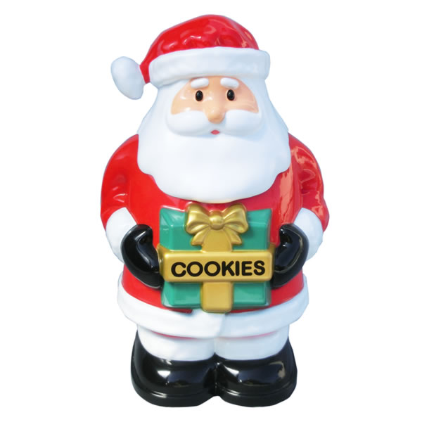 音だしクッキージャー お菓子入れ サンタ キッチン用品 取寄品 3週間前後 新生活 プレゼント