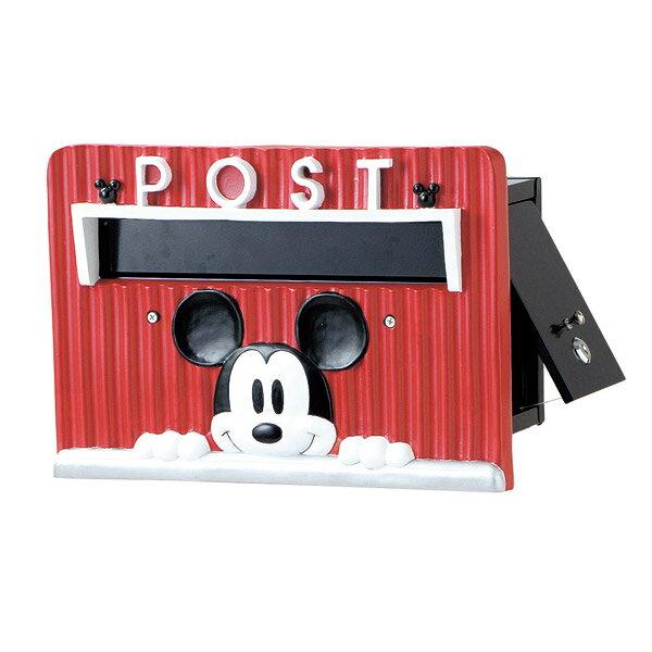 ディズニー ガーデニング 雑貨 壁掛けポスト ミッキーマウス メールボックス 郵便受け ガーデン用品 取寄品 3週間前後 新生活 プレゼント