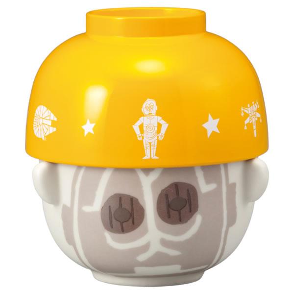 C-3PO 茶碗・汁椀セット お椀 ミニ 子供用 STAR WARS スター・ウォーズ 取寄品 3週間前後 新生活 プレゼント