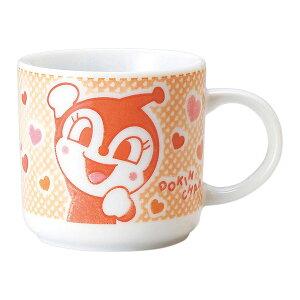 アップ ドキンちゃん 染付マグ マグカップ キャラクター染付食器シリーズ アンパンマン キッチン用品