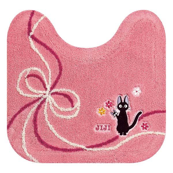 ジジ トイレマット 58cm×60cm ピンク おくりもの 魔女の宅急便 スタジオジブリ 取寄品 3週間前後 新生活 プレゼント