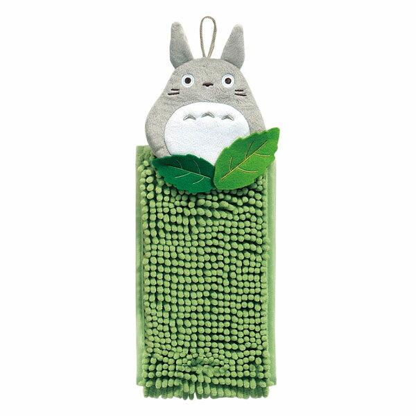 森のトトロ もこもこ洗える お手ふき タオル グリーン となりのトトロ スタジオジブリ 取寄品 3週間前後 新生活 プレゼント