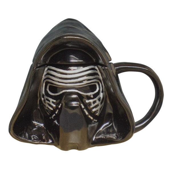 カイロ・レン 3Dマグカップ 蓋付きマグ フェイス STAR WARS スター・ウォーズ 新生活 プレゼント