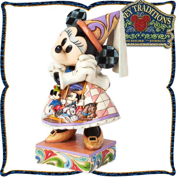 アフターセール 開催中 ディズニー 木彫り調フィギュア ミニーマウス 「プリンセスミニーの祈りのガウン」 ディズニー・トラディション スーパーセール sale 入園入学 ホワイトデー