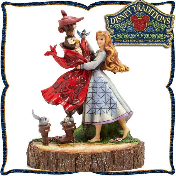 店内全商品対象 限定クーポン 配布中 2018/9/21 20:00~9/26 1:59まで ディズニー プリンセス 木彫り調フィギュア オーロラ姫 (眠れる森の美女) 「Aurora Carved by Heart」 ディズニー・トラディション 在庫限り
