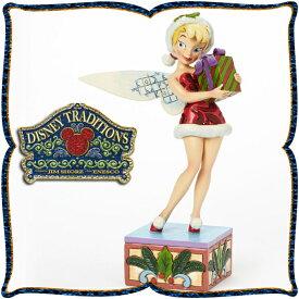 ディズニー 木彫り調フィギュア ティンカーベル (ピーターパン) 「Gift」 とっておきの ディズニー・トラディション 在庫限り