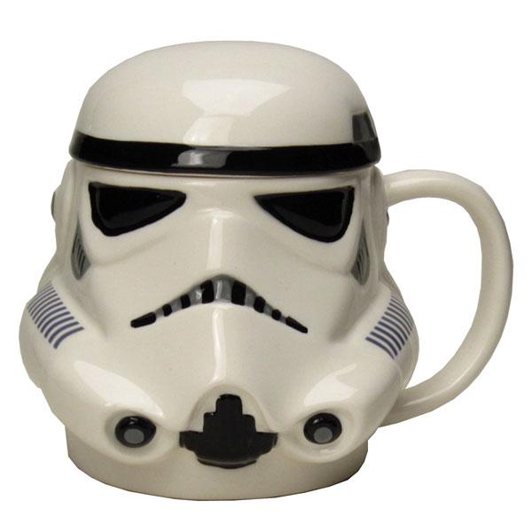ストーム・トルーパー 3Dマグカップ 蓋付きマグ フェイス STAR WARS スター・ウォーズ 新生活 プレゼント