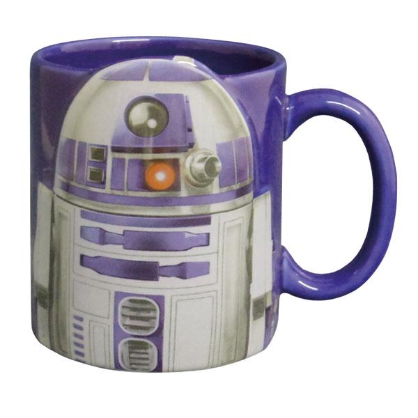 R2-D2 半立体 マグカップ ブルー スター・ウォーズ STAR WARS 新生活 プレゼント