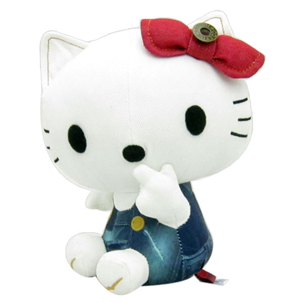 EDWIN × HELLO KITTY ハローキティ デニムプリントぬいぐるみ コラボ 新生活 プレゼント