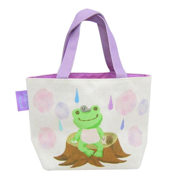 ピクルス ミニトート トートバッグ 手提げ 絵本アート Pickles the frog 新生活 プレゼント