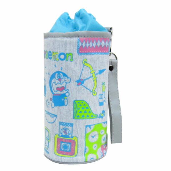 ドラえもん ペットボトルホルダー ペットボトルケース グレー I'm Doraemon ランチ用品 新生活 プレゼント