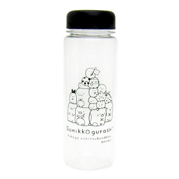 すみっコぐらし ウォーターボトル 水筒 500ml ブラック ランチ用品 新生活 プレゼント