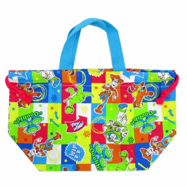 入園準備 トイ・ストーリー ランチ巾着 きんちゃく袋 お弁当袋 ディズニー ランチ用品 入園準備 可愛いキャラクターグッズ 新生活 プレゼント