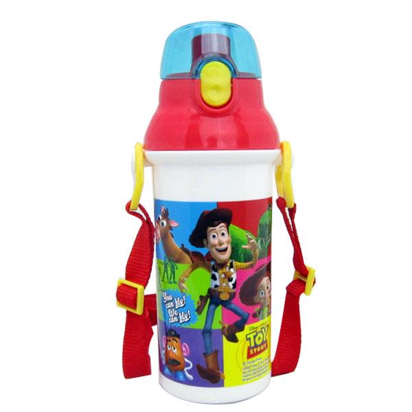 入園準備 トイ・ストーリー 食洗器対応 直飲みプラワンタッチボトル 水筒 ディズニー 子供用 可愛いキャラクターグッズ 新生活 プレゼント