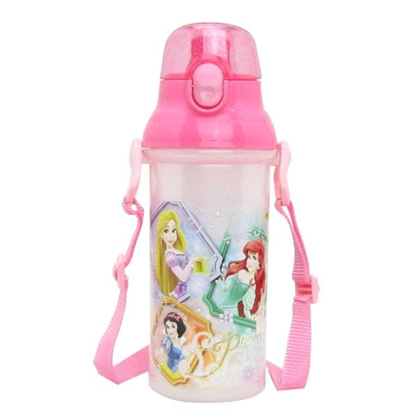 入園準備 プリンセス 食洗器対応 直飲みプラワンタッチボトル 水筒 ディズニー 子供用 可愛いキャラクターグッズ 新生活 プレゼント