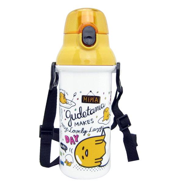 入園準備 ぐでたま 食洗器対応 直飲みプラワンタッチボトル 水筒 子供用 可愛いキャラクターグッズ 新生活 プレゼント