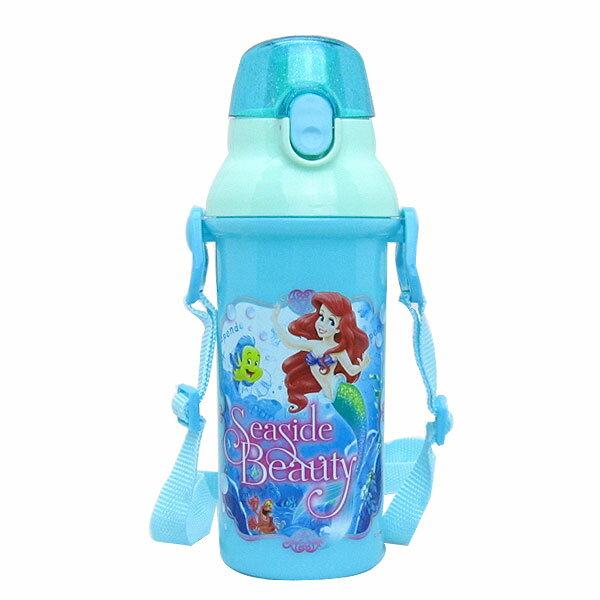 入園準備 アリエル 食洗器対応 直飲みプラワンタッチボトル 水筒 リトル・マーメイド ディズニー 子供用 可愛いキャラクターグッズ 新生活 プレゼント