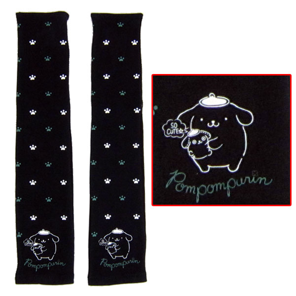 ポムポムプリン 婦人UV手袋 アームカバー 腕カバー 新生活 プレゼント