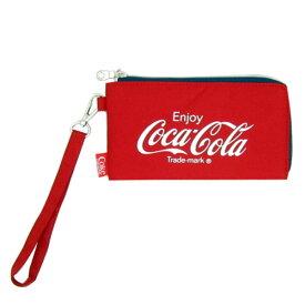 コカ・コーラ ラウンドファスナー ロングワレット (長財布/財布/ウォレット) レッド (ORCO) sale 入園入学