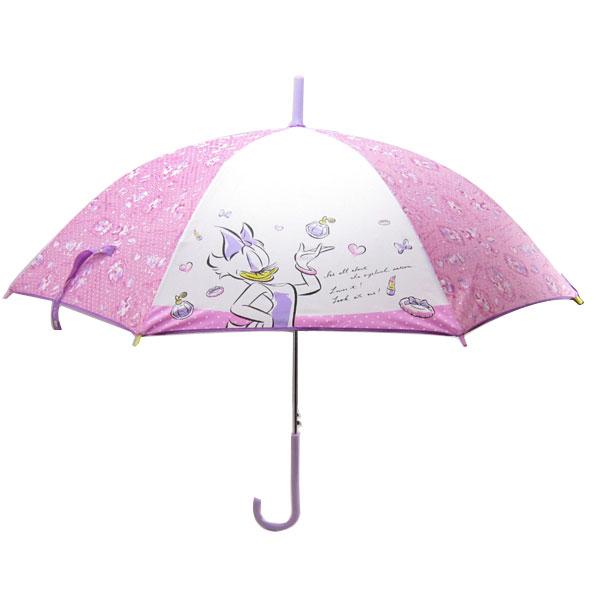 ミニーマウス & デイジーダック 長傘 傘 かさ 55cm ディズニー 雨具 新生活 プレゼント