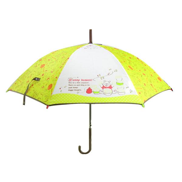 プーさん 長傘 傘 かさ 55cm ハニー くまのプーさん ディズニー 雨具 新生活 プレゼント